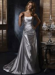 silver wedding dresses best 25 silver wedding gowns ideas on silver wedding