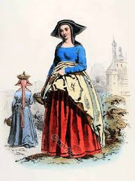 medieval fashion history reign of charles vi and charles vii