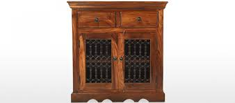 jali sheesham small sideboard quercus living