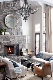 living room decor native charcoal entertainment center light wood
