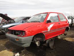 junkyard find 1993 ford festiva l the truth about cars