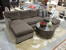 sofa with wide chaise furniture double wide chaise sofa charming on furniture intended