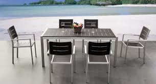 White Patio Dining Set by Aluminum Dining Chairs Ideas Pictures Remodel And Decor Country