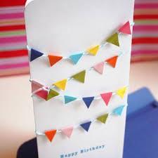 mini bunting birthday card happy birthday wishes tip junkie