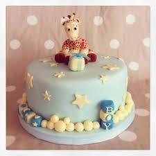 giraffe baby shower cake cake by katy pearce cakesdecor