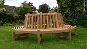 Circular Bench Around Tree Teak Round Tree Benches Ideal For All Trees Quality Teak Tree