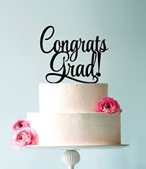 graduation cake toppers usa sales graduation cake topper congrats grad cake topper