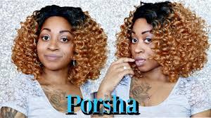 wigs by porsha how to sensationnel empress porsha curly blonde swiss 4x4 silk