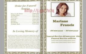 white background archives free funeral program template