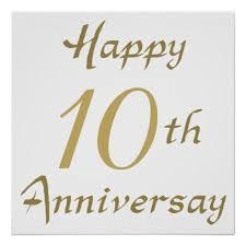 10 year wedding anniversary gifts happy 10th ten wedding adorable 10 year wedding anniversary