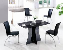 Small Glass Dining Table And 4 Chairs Dining Table And 4 Chairs 4 Seater Dining Sets Glass Dining