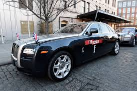 roll royce celebrity e drove me to work this morning what a ride in a rolls royce