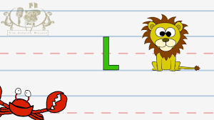 Abc Worksheets For Toddlers Write The Letter L Alphabet Writing Lesson For Children The