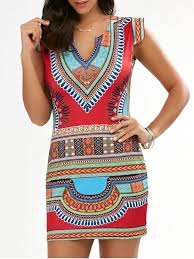 tribal dress bodycon cap sleeve tribal dress print dresses xl zaful