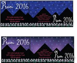 Js Prom Invitation Card Designs Prom Tickets Design Template Examples