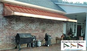 Nationwide Awnings The Romeo Gallery Copper Awnings Projects Gallery Of Awnings