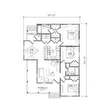 Centralized Floor Plan by Winslow I Folk Victorian Floor Plan Tightlines Designs