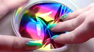 rainbow slime asmr satisfying slime asmr video 6 youtube