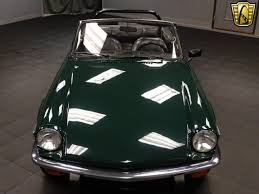 1979 triumph spitfire 6500 miles british racing green convertible