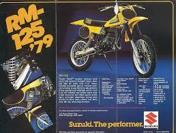 motocross bike weight 1979 suzuki rm125 i had this bike in 1979 bikes pinterest