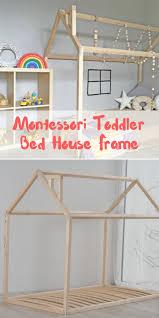 floor bed ideas die besten 25 wooden toddler bed ideen auf pinterest rustikale