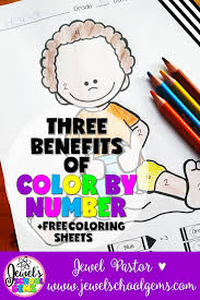 3 benefits of color by number pages by jewel pastor
