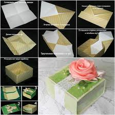 paper gift boxes how to diy origami paper gift box