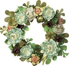 succulent wreath succulent wreath kit paper source