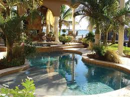 best 25 tropical pool and spa ideas on spa places