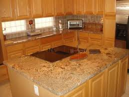 granite countertop light maple kitchen cabinets pictures bread