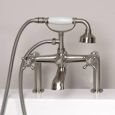 Handheld Bathtub Faucet Vera Deck Mount Tub Faucet And Hand Shower Bathroom