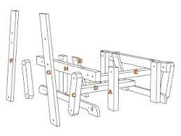 Deck Chair Plans Free by Off Tha Chain