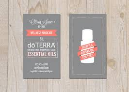 How To Do Business Cards Doterra Business Cards Lilbibby Com