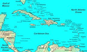 map usa barbados map usa and caribbean major tourist attractions maps