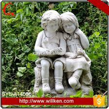 Garden Decorations For Sale Polyresin Outdoor Angel Statue Garden Decor For Sale