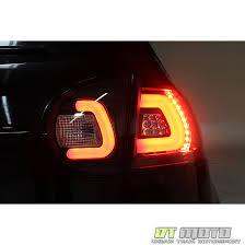 fiber optic tail lights 09 volkswagen rabbit gti golf fiber optic style led performance