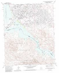 Map Of Arizona Cities by Lake Havasu City South Topographic Map Az Ca Usgs Topo Quad