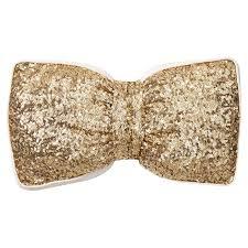 the emily meritt sequin bow pillow pbteen