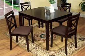 Dining Set With 4 Chairs Cool 4 Chair Dining Set Room Gregorsnell Table At Of Four Chairs