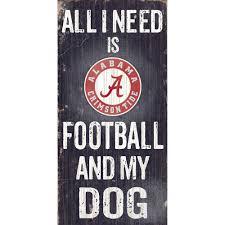 Alabama Crimson Tide Home Decor by Crimson Tide Football U0026 My Dog Sign