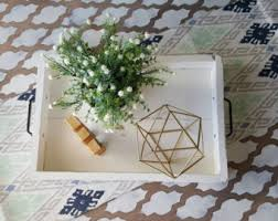 Home Decor Coffee Table Coffee Table Tray Etsy