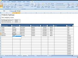 Landlord Spreadsheet Property Managers Template Rent Income And Expense Tracking