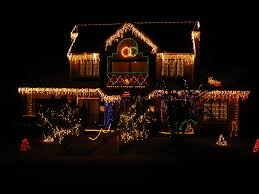 Decorate Home Christmas Houses Decorated For Christmas Christmas Lights Decoration
