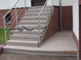 treppen rutschfest machen steinteppich treppenbeschichtung