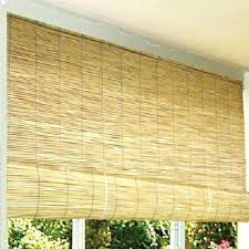 Outdoor Curtains Lowes Designs Outdoor Shades Lowes Light Brown Rectangle Traditional Bamboo