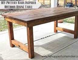 Homemade Dining Room Table Amusing Idea Outdoor Dining Tables Diy - Diy dining room tables