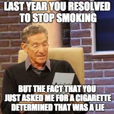 I Quit Meme - 12 new year s resolutions angelenos will decide to make but