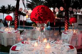 Wedding Table Decorations Ideas Wedding Decoration Ideas Red White And Black Table Centerpieces