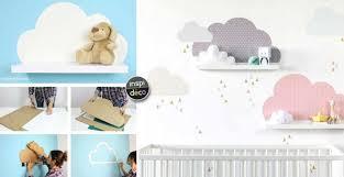 decoration nuage chambre bébé chambre bébé nuages 15 idées déco pour le nouveau venu