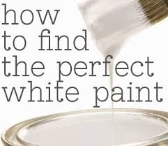 how to find the perfect white paint